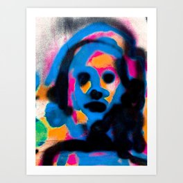 Face in the Crowd 1 Art Print