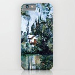 Paul Cézanne - Maison au bord de la Marne (House on the Marne) iPhone Case