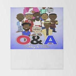 O&A All-Stars Throw Blanket