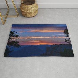 Colorful Sunset - North_Rim, Grand_Canyon, AZ Rug