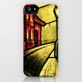 Lamplight Street iPhone Case