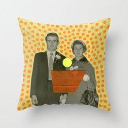 Urla In Roma Termini Throw Pillow