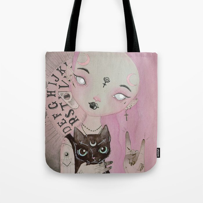 Teen Witch Tote Bag