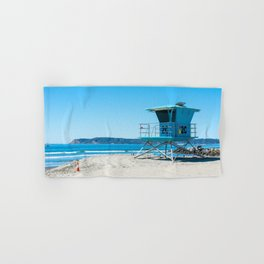 Coronado Lifeguard Tower Hand & Bath Towel