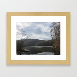 Ghost Lake, NJ Framed Art Print