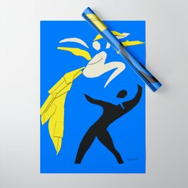 Henri Matisse Two Dancers 1937 - Cut Out Artwork Reproduction for Wall Art, Prints, Posters, Apparel Wrapping Paper