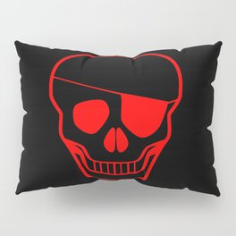 Skull With Eye Pillow Sham