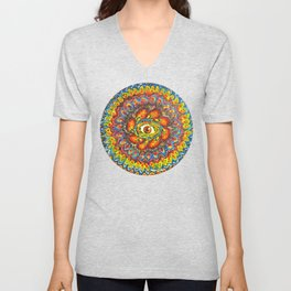 Peaking Unisex V-Neck