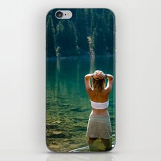 Le Lady Lake iPhone & iPod Skin