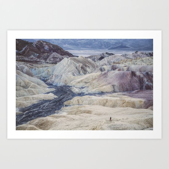 Little People, Big Places 2 (series of 4) Art Print