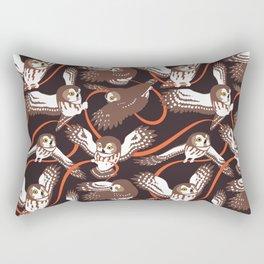 Owls with Ribbon Rectangular Pillow