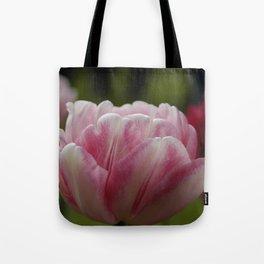 Pink Tulip Tote Bag