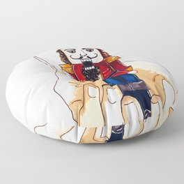 The christmas Nutcracker Floor Pillow