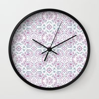 florence Wall Clocks featuring florence by jaquelina freitas