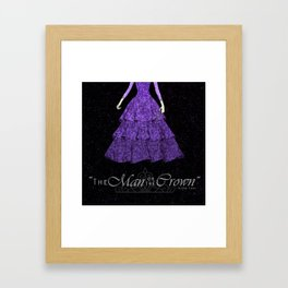 The man or the crown  Framed Art Print