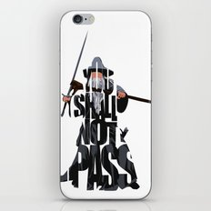 Gandalf - The Lord of the Rings iPhone & iPod Skin