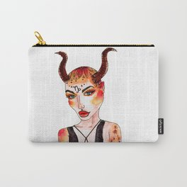Capricorn Babe Carry-All Pouch