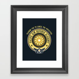 Pacific Rim Defense Academy Framed Art Print