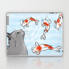 Koi and Cat Laptop & iPad Skin