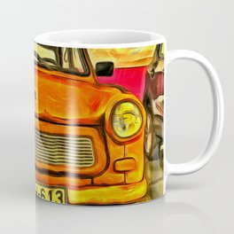 Trabant Van Gogh Coffee Mug