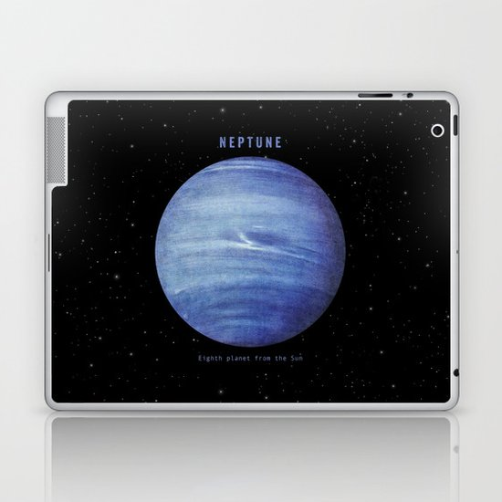Neptune Laptop & iPad Skin