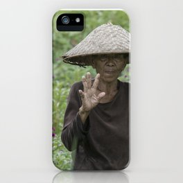 indo style iPhone Case