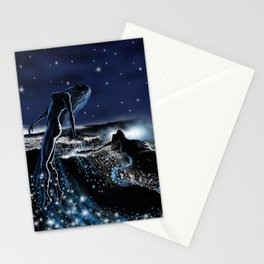 vuelo nocturno Stationery Cards