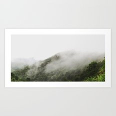 FOGGYMOUNTAIN Art Print