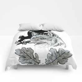 I Dreamt Of Ferns And Foliage Comforters