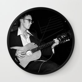 Omni - The Guitar Man and Vagabond Wall Clock