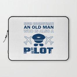 Old Man - A Pilot Laptop Sleeve