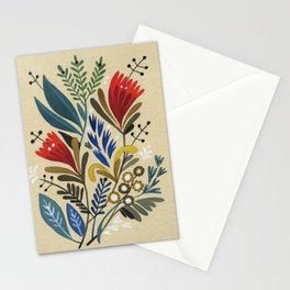 folkflower II Stationery Cards