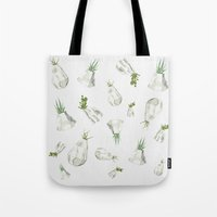 cactus Tote Bags featuring Cactus by Barbara Amaral