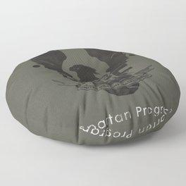 Spartan Hero Floor Pillow
