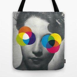Psychedelic glasses Tote Bag