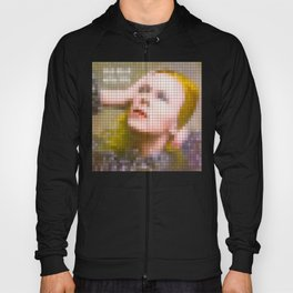 Bowie : Hunky Dory Pixel Album Cover Hoody