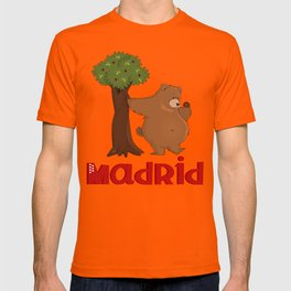 MADRID: Bear and Madrono (v.2) T-shirt