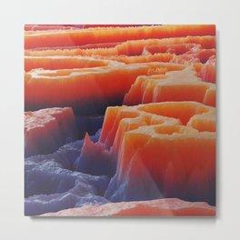 Subsurface Metal Print