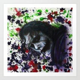 Colour Chaos Art Print