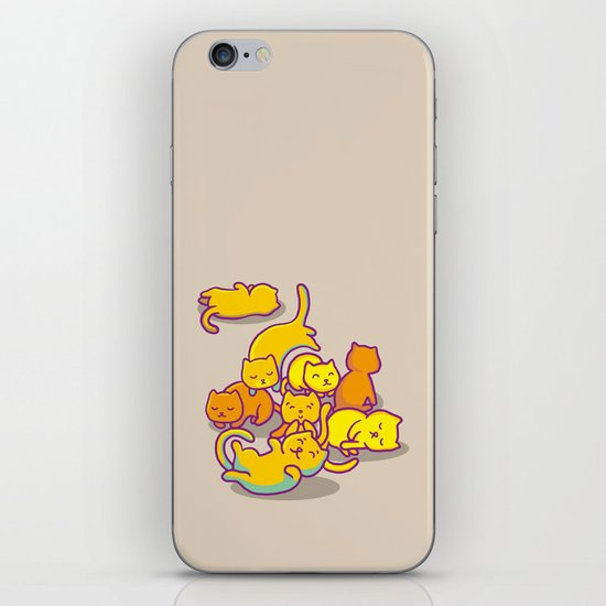 cats ! iPhone & iPod Skin