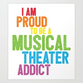 Musical Theater Pride Art Print