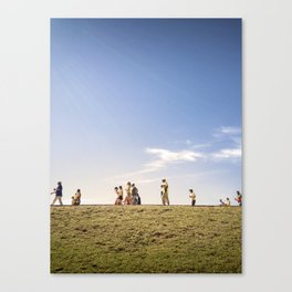 WORLD CUP 2014 way to the game Canvas Print