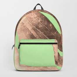 Antique Sepia Fall Green Backpack