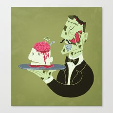 Brain Food Canvas Print