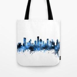 Houston Texas Skyline Tote Bag
