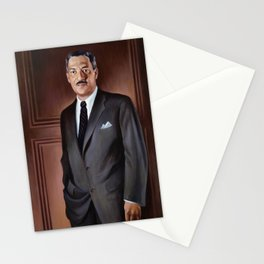 Thurgood Marshall Painting - Betsy Graves Reyneau Stationery Cards