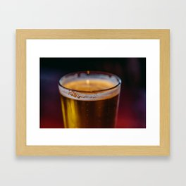 Irish Beer Framed Art Print