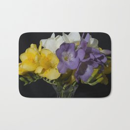 Cupertino's Fragrant Freesias Bath Mat