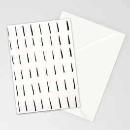 MOD_ShortDashesLight_Charcoal Stationery Cards