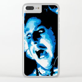 FOREVER YOUNG FRANKENSTEIN Clear iPhone Case